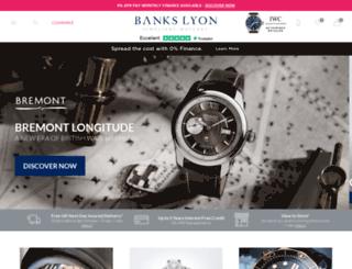bankslyon.co.uk screenshot