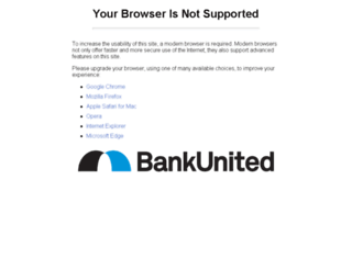 bankunited.customercarenet.com screenshot