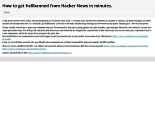 bannedfromhn.neocities.org screenshot