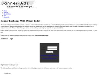 banner-adz.com screenshot