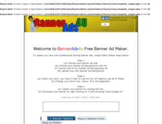 bannerads4u.com screenshot