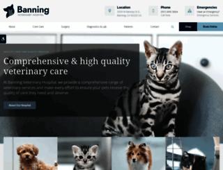 banningvet.com screenshot