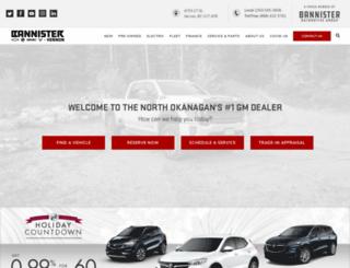 bannisters.com screenshot