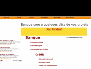 banque.com screenshot