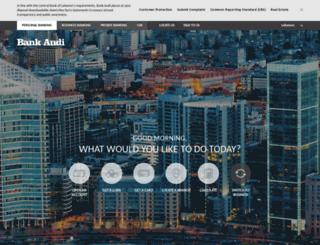banqueaudi.com screenshot