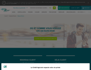 banquedirecte.ca-centrest.fr screenshot