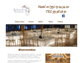 banquetesambassador.com screenshot