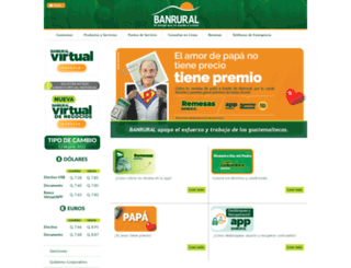 banrural.com.gt screenshot