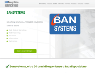 bansystems.it screenshot