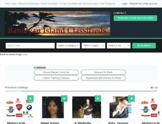 bantayanislandclassifieds.com screenshot
