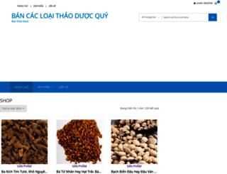 banthaoduoc.com screenshot