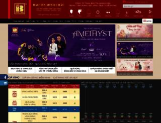 baotinminhchau.com.vn screenshot