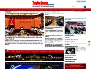 baotuyenquang.com.vn screenshot