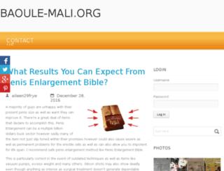 baoule-mali.org screenshot