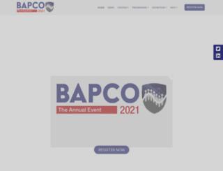 bapco.co.uk screenshot