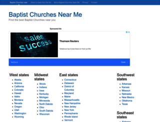 baptist-churches.find-near-me.info screenshot