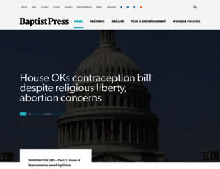 baptistpress.com screenshot