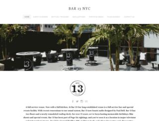 bar13.com screenshot