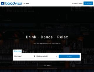 baradvisor.com screenshot