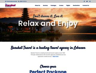 barakat.travel screenshot