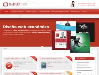 barataweb.com screenshot