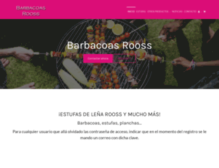 barbacoas-rooss.com screenshot