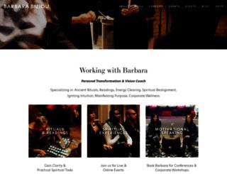 barbarabiziou.com screenshot