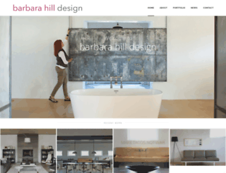 barbarahilldesign.com screenshot
