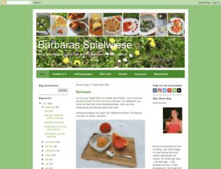 barbaras-spielwiese.blogspot.de screenshot