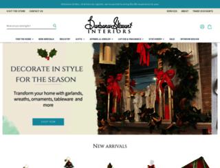 barbarastewartinteriors.com screenshot