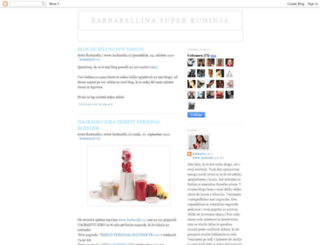 barbarellinasuperkuhinja.blogspot.com screenshot