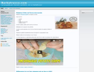 barbatrucco.com screenshot