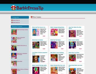 barbiedressupgames7.blogspot.ca screenshot