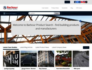 barbourproductsearch.info screenshot