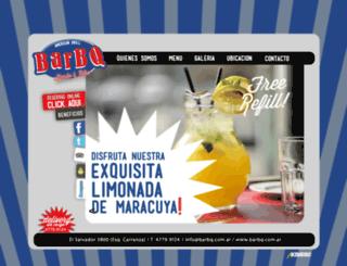 barbq.com.ar screenshot