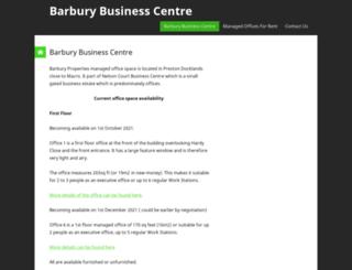 barbury.co.uk screenshot