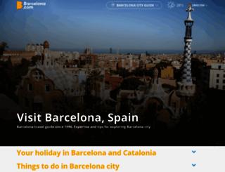 barcelona.com screenshot