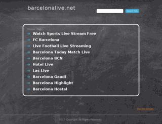 barcelonalive.net screenshot