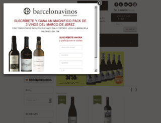 barcelonavinos.es screenshot