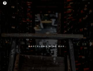 barcelonawinebar.com screenshot