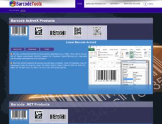 barcodetools.com screenshot