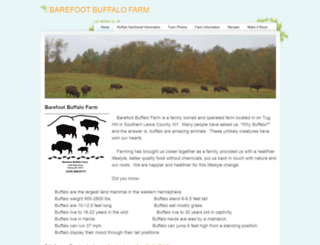 barefootbuffalofarm.com screenshot