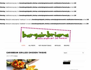 bargainbriana.com screenshot