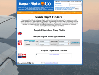 bargainflights.co screenshot