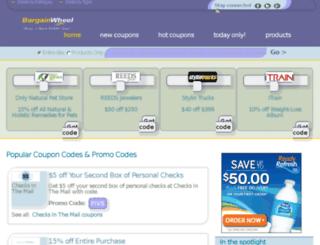 bargainwheel.com screenshot