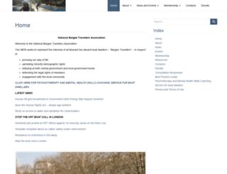 bargee-traveller.org.uk screenshot