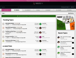 bariatricpal.com screenshot