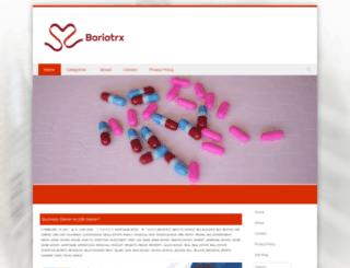 bariatrx.com screenshot