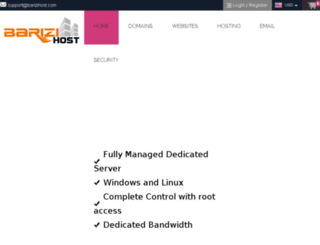 barizihost.com screenshot