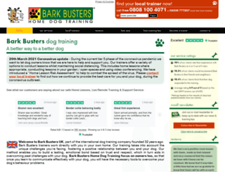 barkbusters.co.uk screenshot